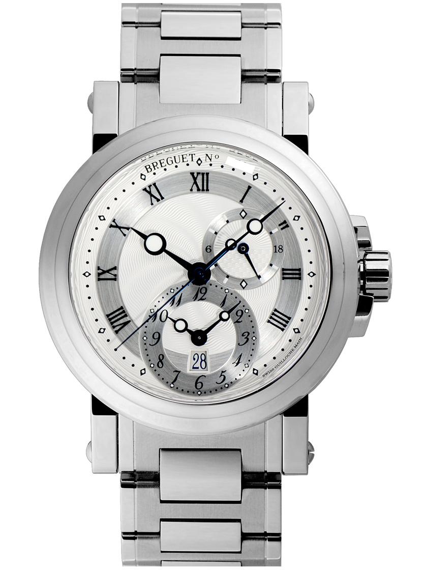 watch ee017 75262 【新品】ブレゲ マリーン GMT 5857ST/12/SZO SSブレス 自動巻き シースルーバック ...