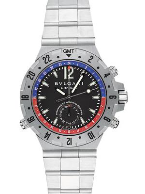 数量は多い  【新品】ブルガリ GMT40SSD ディアゴノプロフェッショナル エア ブラック GMT3タイムゾーン ブラック, ヒノエマタムラ:af670e0a --- themezbazar.com