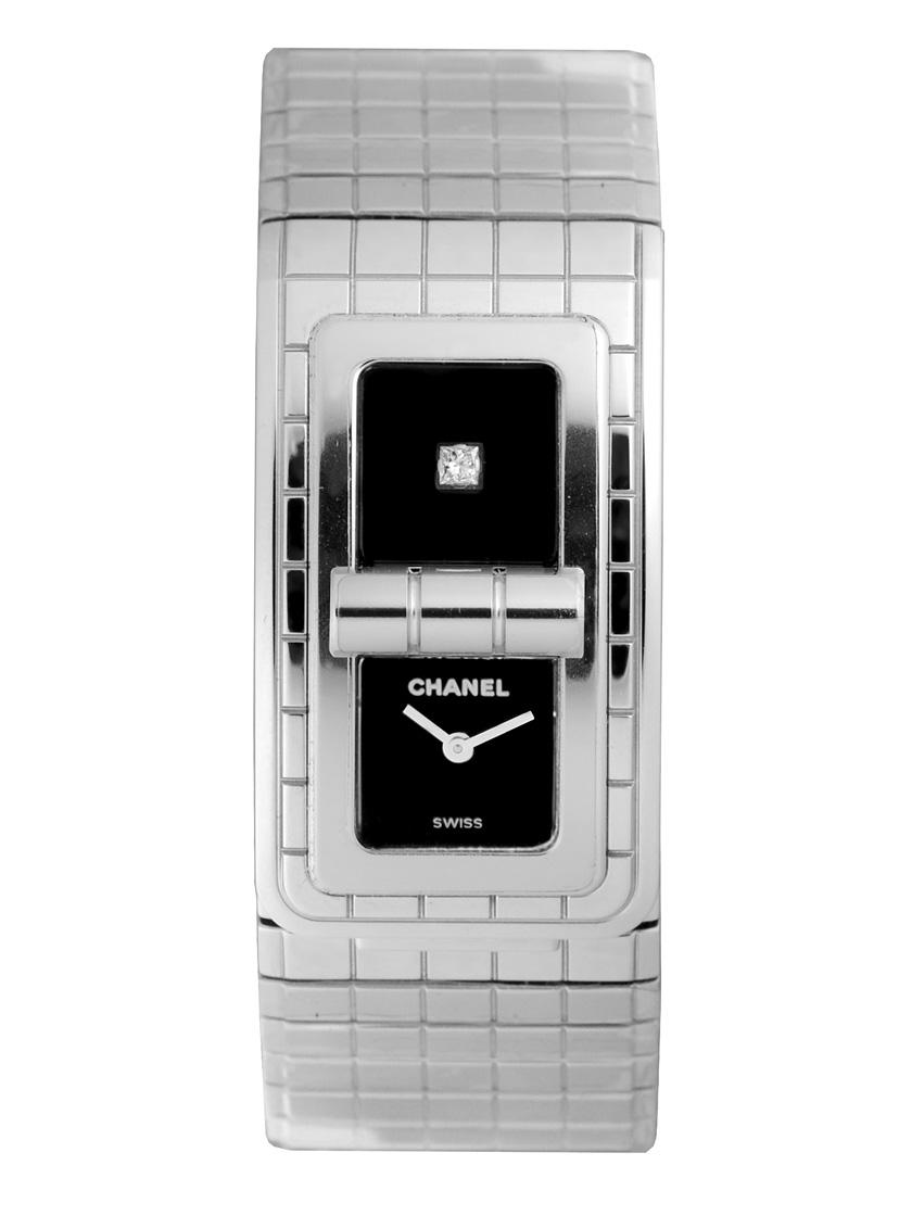 【新品】シャネル H5144 コード ココ SSブレス ブラック クォーツ