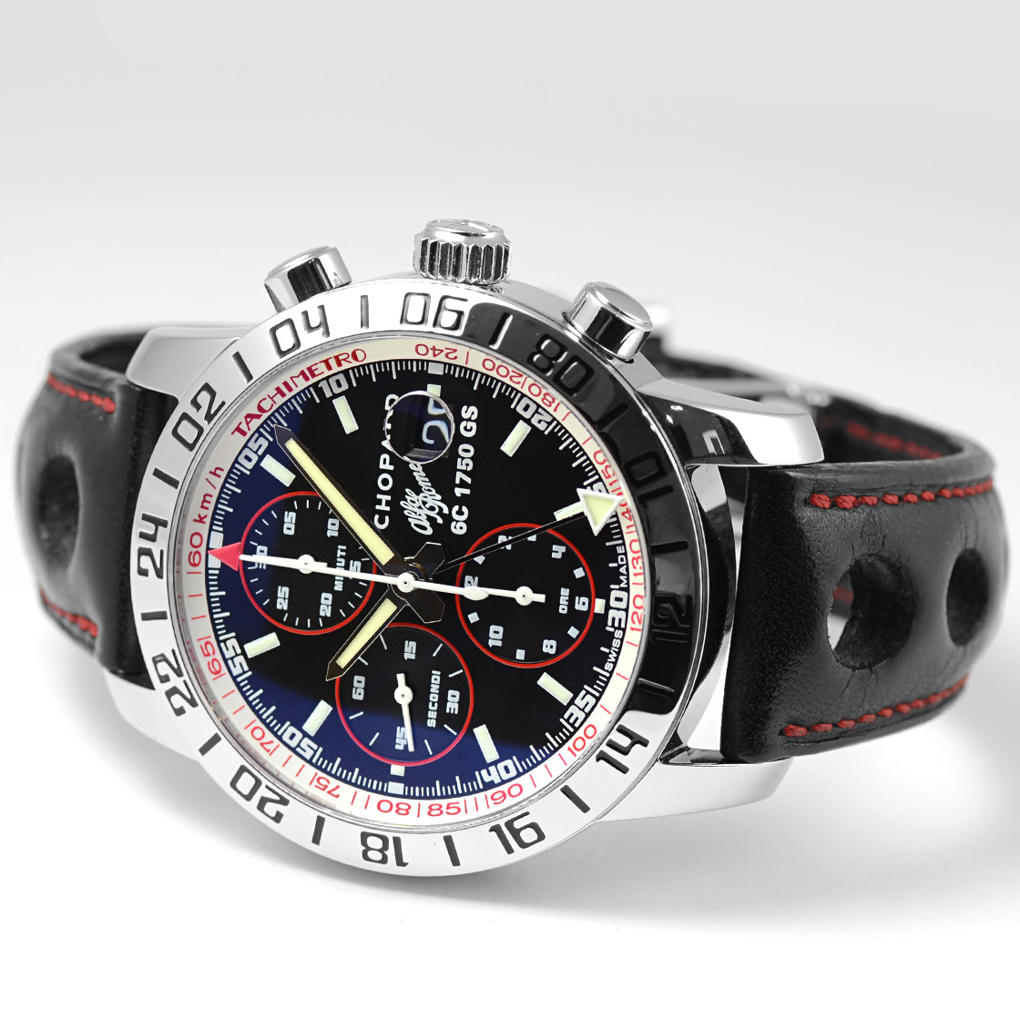 Watch-jubilee: Chopard Mens Mille Miglia GMT Chronograph