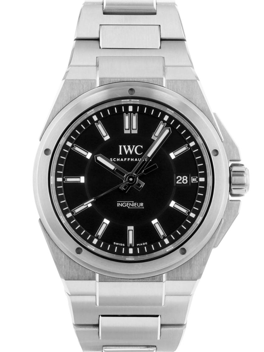満点の 【【】IWC】IWC SSブレス IW323902 インヂュニアブラック文字盤 SSブレス 《人気モデル》 自動巻き 《人気モデル》, 沸騰ブラドン:922c54f9 --- baecker-innung-westfalen-sued.de