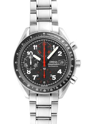 奥米伽3513.53男子的速度主人日期計時儀標記40 burakkugyoshie自動卷≪生產結束型號≫