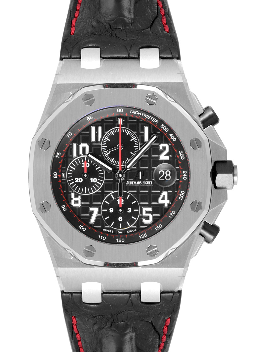 Watch jubilee rakuten global market audemars piguet 26470 st royal oak offshore chronograph for Royal oak offshore vampire