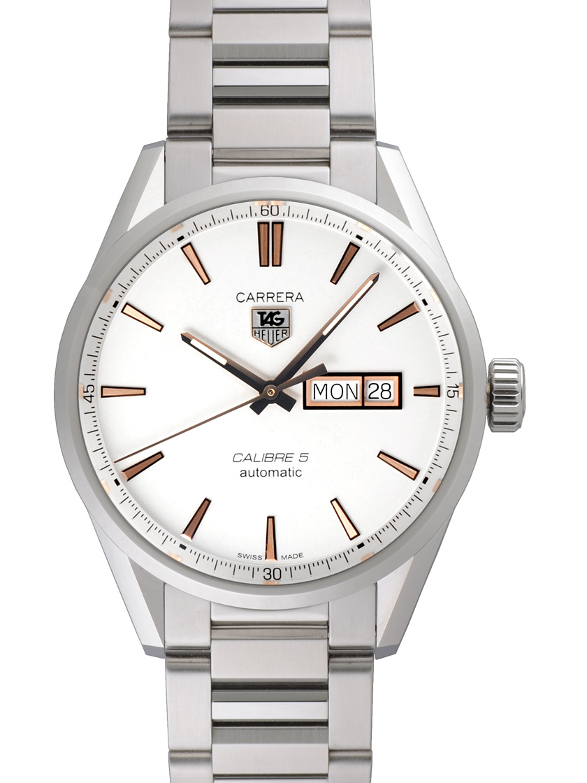 huge selection of b8203 d33c8 Tag Heuer WAR201D. BA0723 Carrera calibre 5 day date SS breath Silver /  Gold needles automatic movement men's caseback