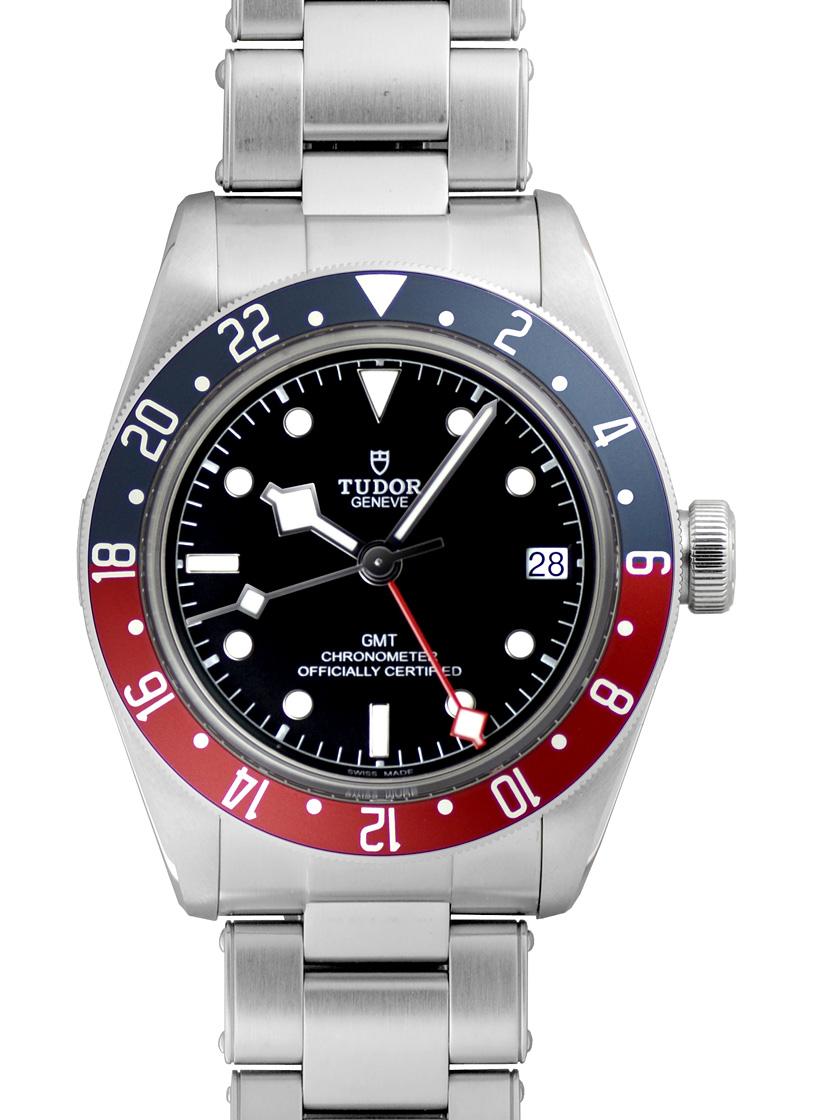 【新品】チューダー(チュードル) 79830RB ブラックベイ GMT SS ブラック 自動巻き レッド/ブルーベゼル
