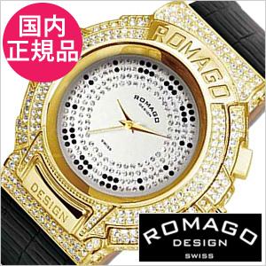 6e54a1d89baa (箱凹み) 冬のアウトレットsale 在庫処分セールバーゲン ロマゴ腕時計 ROMAGO時計