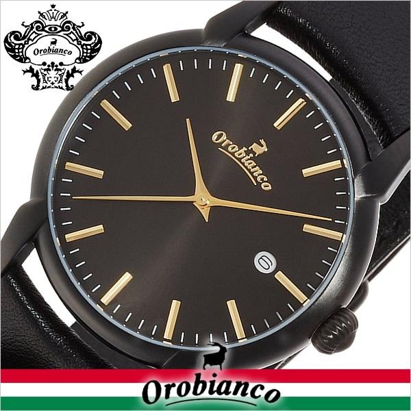 レディース オロビアンコ メンズ 正規品 限定20本 チントゥリーノ カレンダー ラムレザー 腕時計 OR-0058-5 Orobianco タイムオラ 【あす楽】 時計