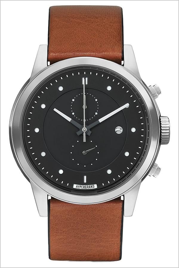 【おひとり様1点限り】ハイパーグランド腕時計 HYPER GRAND時計 HYPER GRAND 腕時計 ハイパーグランド 時計 マーベリック シリーズ クラシック レザー MAVERICK SERIES CLASSIC LEATHER メンズ レディース ブラック CWC4SBHNY[正規品 レザー 革 シルバー ブラウン][]