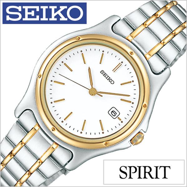 セイコー スピリット 腕時計 SEIKO 時計 SPIRIT SEIKO 腕時計 セイコー時計 レディース ホワイト SSXV026[メタル ベルト 正規品 防水 クォーツ シルバー ペア ウォッチ ゴールド ニュー スタンダード][][プレゼント ギフト]