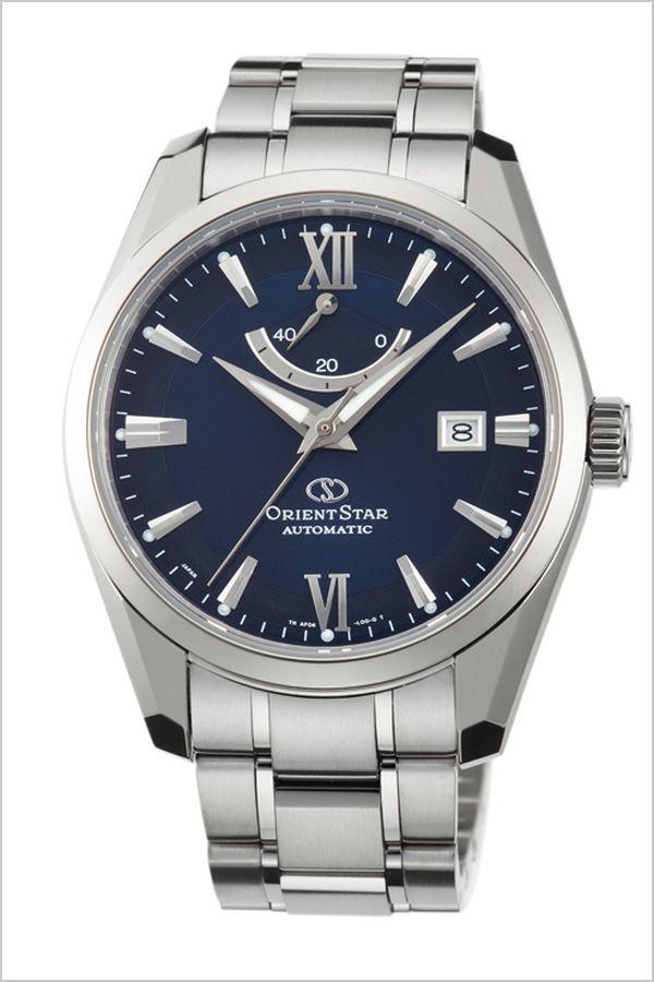 オリエント腕時計 ORIENT時計 ORIENT 腕時計 オリエント 時計 オリエントスター チタニウム Orient Star Titanium メンズ ネイビー WZ0021AF メタル ベルト 機械式 自動巻 メカニカル 正規品 オリエント スター シルバー  プレゼント ギフト 夏
