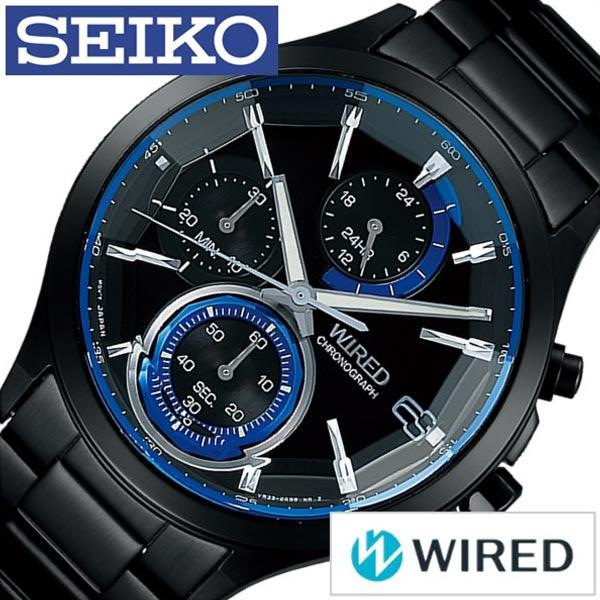 d044227bf9 ワイアードリフレクション時計セイコーSEIKOワイアード腕時計WIRED時計WIRED腕時計REFLECTIONメンズブラックAGAV122[