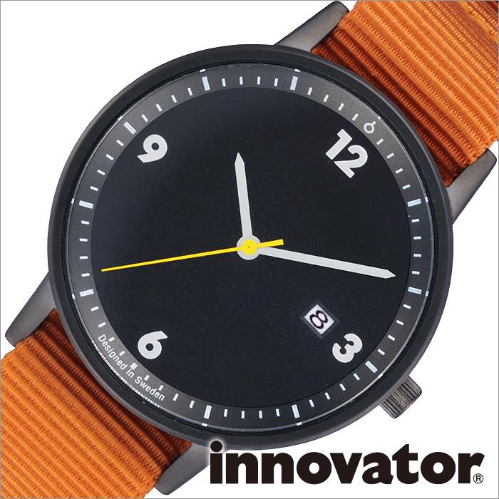 イノベーター腕時計 innovator 腕時計 ボールド Bald メンズ レディース ユニセックス ブラック IN 0001 7 人気 シンプル 薄型 ミニマル ペアウォッチ カップル ビジネス スーツ 丸型 ナイロン ベルト グリーン 送料無料 プレゼント ギフト 春 お祝いIEH9D2W