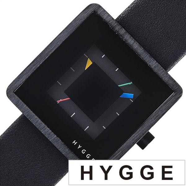 ヒュッゲ 時計 HYGGE 腕時計 2089 メンズ レディース ブラック HGE020081 正規品 北欧 ミニマル シンプル 個性的 インテリア 人気 ブランド プレゼント ギフト 革 レザー ペアウォッチ ユニセックス デザイナーウォッチ ファッション コーデ 送料無料 冬 入試 受験 成人式