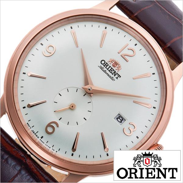 オリエント 腕時計 クラシック セミスケルトン ORIENT 時計 CLASSIC SEMI SKELETON メンズ ホワイト RN-AP0001S 正規品 日本製 機械式 信頼 おすすめ シースルー スケルトン クラシカル シンプル トラッド ビジネス スーツ オフィス カレンダー プレゼント ギフト 送料無料