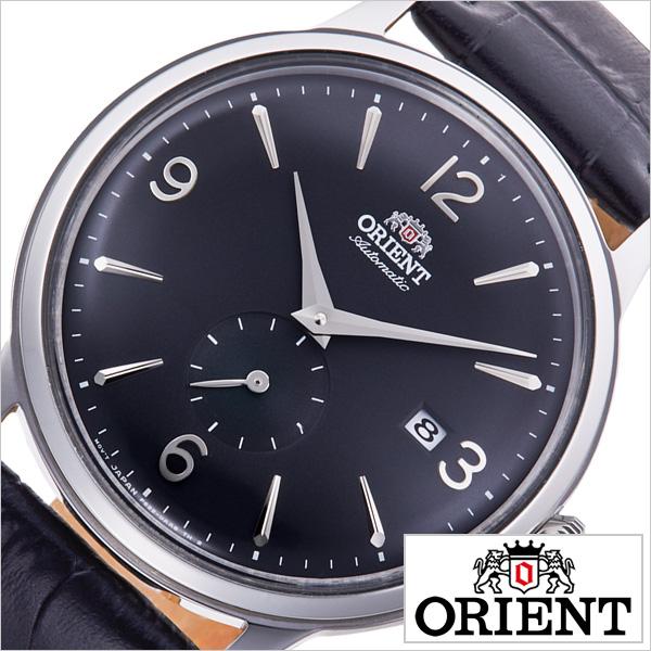 オリエント 腕時計 クラシック セミスケルトン ORIENT 時計 CLASSIC SEMI SKELETON メンズ ブラック RN-AP0005B 正規品 日本製 機械式 信頼 おすすめ シースルー スケルトン クラシカル シンプル トラッド ビジネス スーツ オフィス カレンダー プレゼント ギフト 送料無料