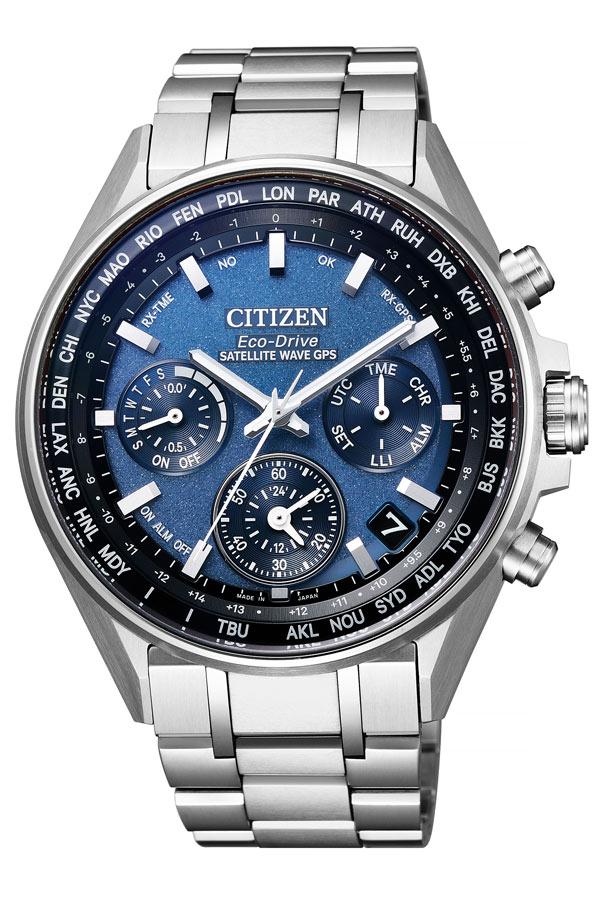 シチズン アテッサ 時計 CITIZEN ATTESA 腕時計 メンズ ブルー CC4000-59L[正規品 アナログ ラウンド エコ ドライブ 人気 おしゃれ クロノ GPS ファッション ブランド ビジネス プレゼント ギフト]