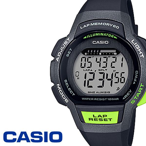 カシオ スポーツギア 時計 CASIO SPORTS GEAR 腕時計 レディース LWS-1000H-1AJF[軽い 見やすい おすすめ ブランド スポーツ ランニング ジョギング ウォーキング マラソン カジュアル ファッション デジタル アラーム ストップウォッチ 人気 プレゼント ギフト]