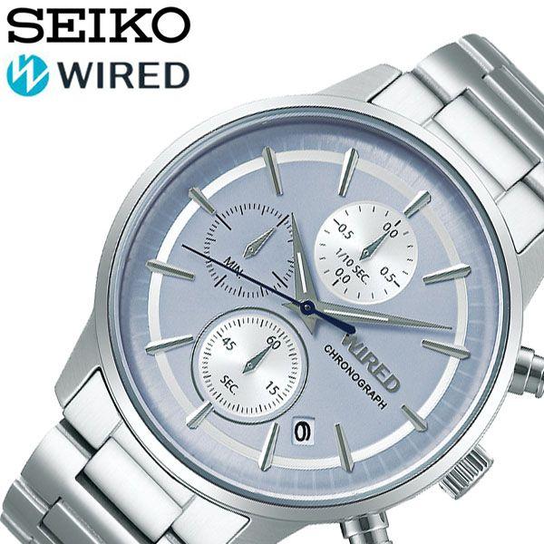 セイコー ワイアード 時計 SEIKO WIRED 腕時計 メンズ ブルー AGAT432 人気 かっこいい ビジネス 営業 スーツ フォーマル ファッション おしゃれ カレンダー 就活 就職 お祝い バースデー 誕生日 記念日 プレゼント ギフト 冬 入試 受験 成人式 お祝い