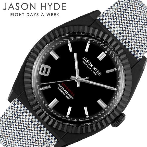ジェイソンハイド 時計 JASON HYDE 腕時計 ウーノ #UNO メンズ ブラック JH10008 人気 ブランド おすすめ シンプル レトロ ビンテージ ヴィンテージ 個性的 デザイン デザイナーズ ペア ウォッチ 記念日 プレゼント ギフト 冬 入試 受験 成人式 お祝い