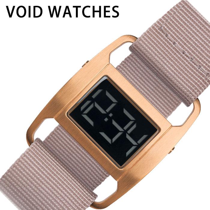 [あす楽]ヴォイド腕時計 VOID時計 VOID 腕時計 ヴォイド 時計 PXR5 ユニセックス メンズ レディース ローズゴールド VID020088 人気 ブランド 防水 デザイン デジタル ストラップ カジュアル ファッション おしゃれ プレゼント ギフト 冬 入試 受験 成人式 お祝い