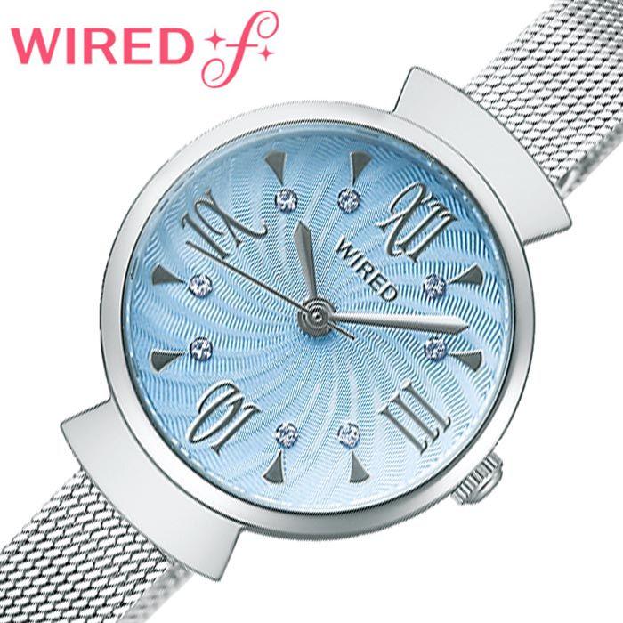 セイコー腕時計 SEIKO時計 SEIKO 腕時計 セイコー 時計 ワイアード エフ WIRED f レディース ライトブルー AGEK457