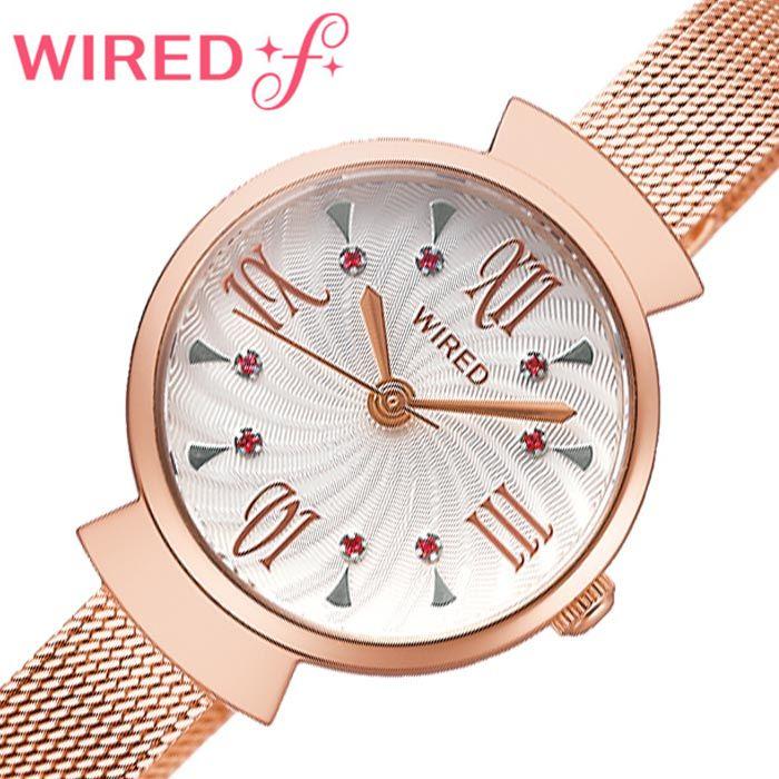 セイコー腕時計 SEIKO時計 SEIKO 腕時計 セイコー 時計 ワイアード エフ WIRED f レディース ホワイト AGEK458