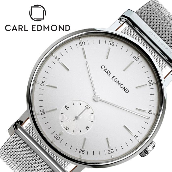 [あす楽]カールエドモンド レディース リョーリット 時計 CARL EDMOND Ryolito 腕時計 ホワイト CER3201-M16 人気 ブランド おすすめ 北欧 かわいい おしゃれ シンプル シック ファッション プレゼント ギフト 冬 入試 受験 成人式 お祝い