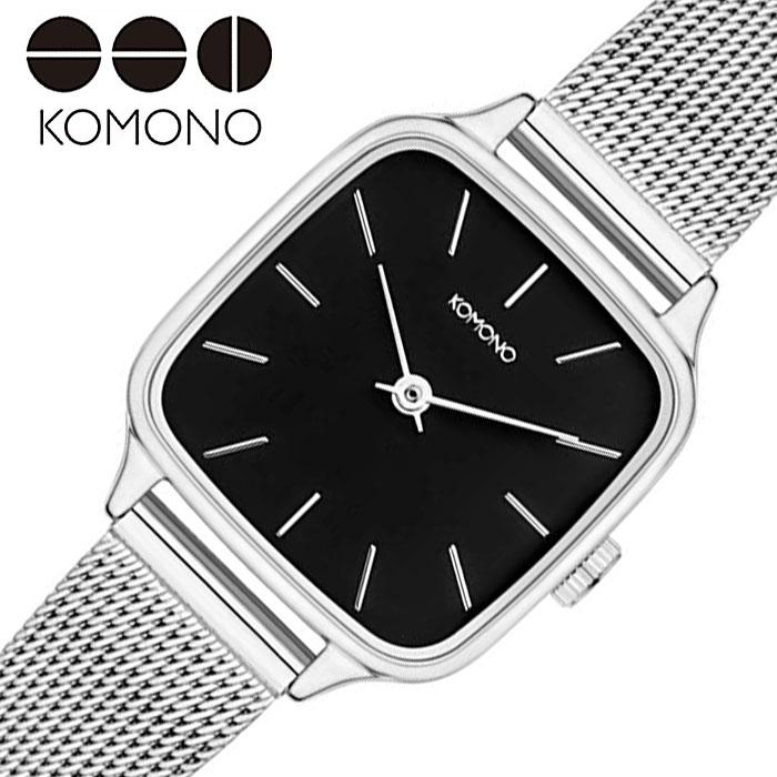 [あす楽]コモノ ケイト ロイヤル 時計 KOMONO KATE ROYAL レディース ブラック KOM-W4256 人気 ブランド おすすめ ファッション おしゃれ 個性的 シンプル シック プレゼント ギフト 冬 入試 受験 成人式 お祝い