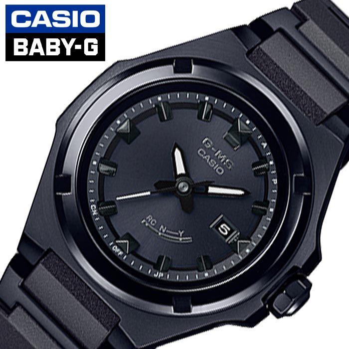 [あす楽]カシオ腕時計 CASIO時計 CASIO 腕時計 カシオ 時計 ベビージー BABY-G G-MS レディース ブラック MSG-W300CB-1AJF