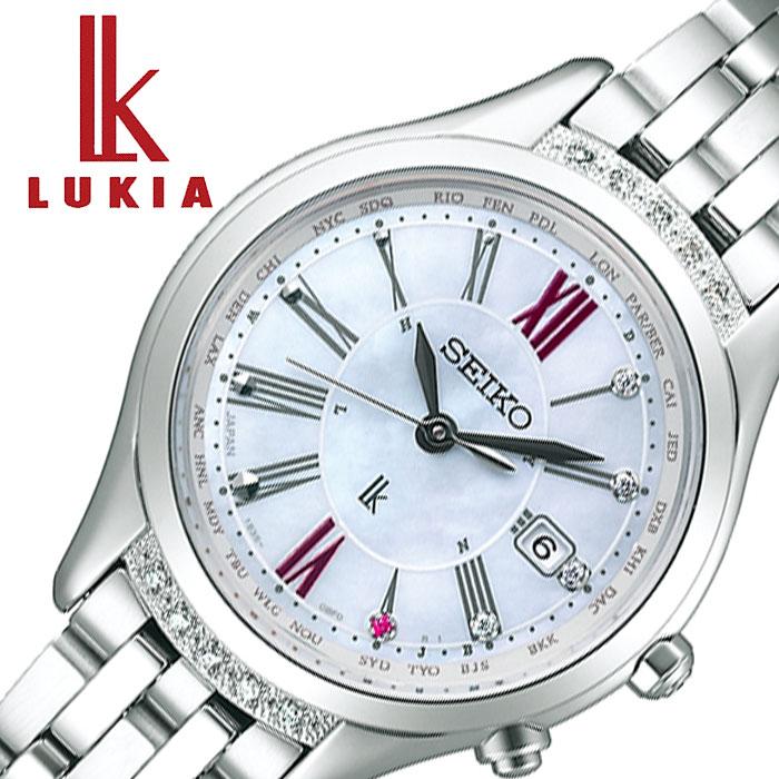 セイコー腕時計 SEIKO時計 SEIKO 腕時計 セイコー 時計 ルキア 綾瀬はるかセレクト セイコールキア25周年記念限定モデル LUKIA レディース ホワイト SSVV059
