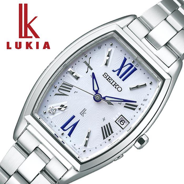 セイコー腕時計 SEIKO時計 SEIKO 腕時計 セイコー 時計 ルキア LUKIA レディース ホワイト SSVW165