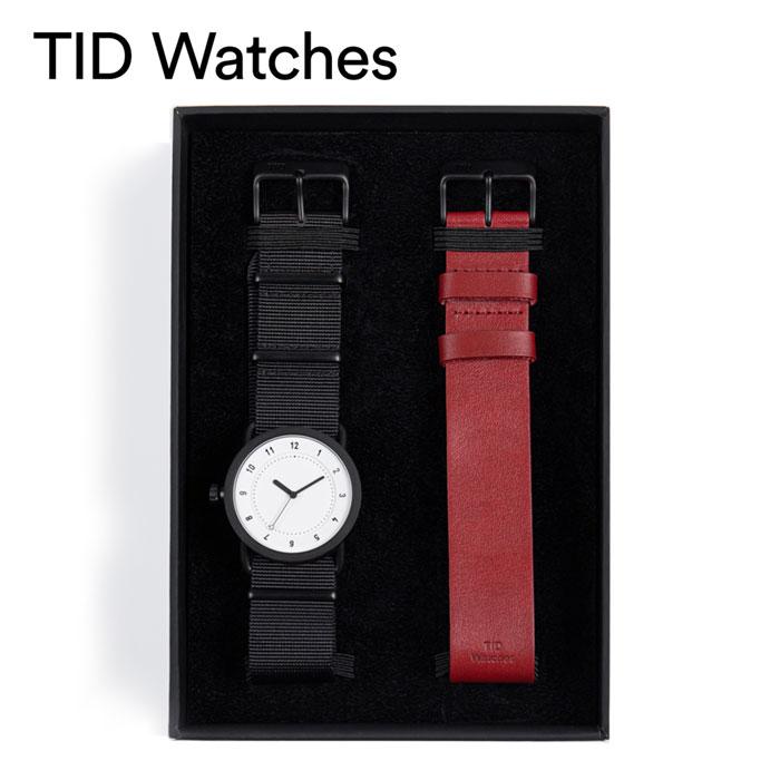 [あす楽]ティッドウォッチズ腕時計 TID watches時計 TID watches 腕時計 ティッドウォッチズ 時計 ホリデイセット Holiday Set メンズ レディース ホワイト 10200124HS