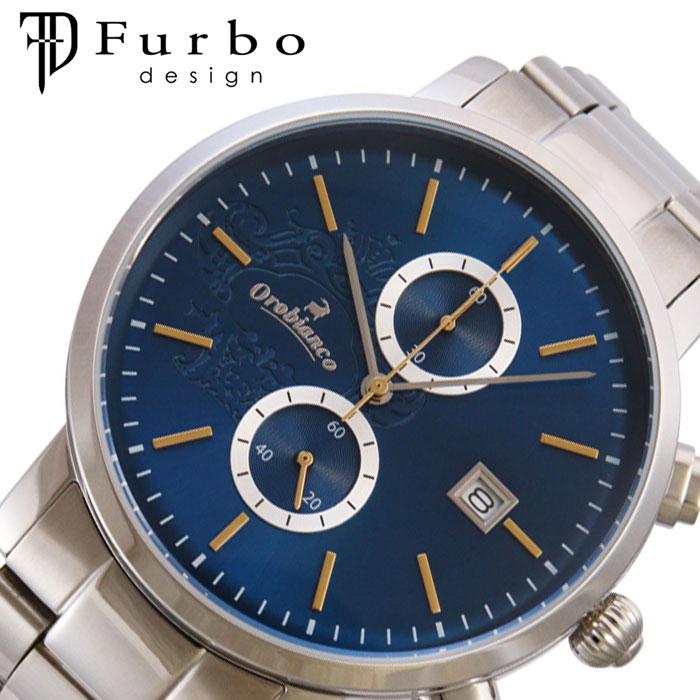 [あす楽]オロビアンコ 自動巻き 時計 Orobianco 腕時計 チェルト CERTO メンズ ブルー OR0070-502 人気 ブランド ファッション ビジネス スーツ フォーマル クロノグラフ カレンダー プレゼント ギフト