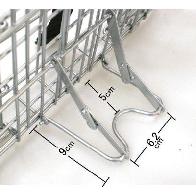 供自行車筐子折疊自行車使用的前面的筐子折疊式的前或者折疊筐子筐子前台籃球電線網絲銀子或者電線籃球折疊式的自行車鋼鐵輕量小型PLATA唱片漂亮的摘掉