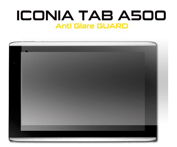 【クロネコメール便OK】 Acer エイサー ICONIA TAB A500用反射防止液晶保護シール クリーナークロス付き アイコニアタブ用 保護フィルム