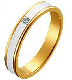 送料無料 結婚指輪 マリッジリング ペアリング 18金とプラチナのコンビ ダイヤモンドリング パイロット「True Love トゥルーラブ 」M097D プラチナ900&K18ゴールド 文字彫り無料 レディース【楽ギフ_名入れ】