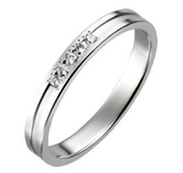 送料無料 結婚指輪 マリッジリング ペアリング P702D パイロット True Love トゥルーラブ プラチナPt900 ダイヤモンド メンズ レディース ペア セット 文字彫り無料【楽ギフ_名入れ】