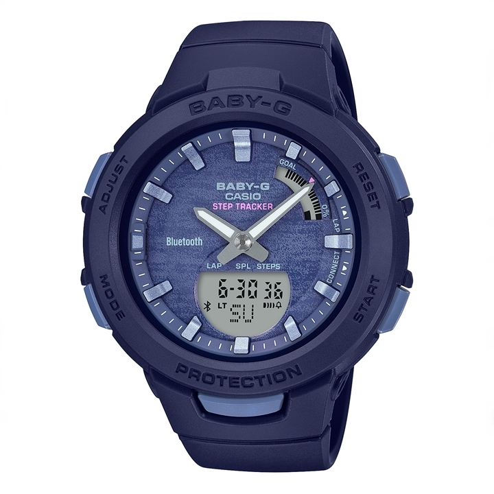 カシオ ベビーG CASIO BABY-G G-SQUAD Adventure Yoga STEP TRACKER BLE モバイルリンク BSA-B100AC-2AJF 送料無料