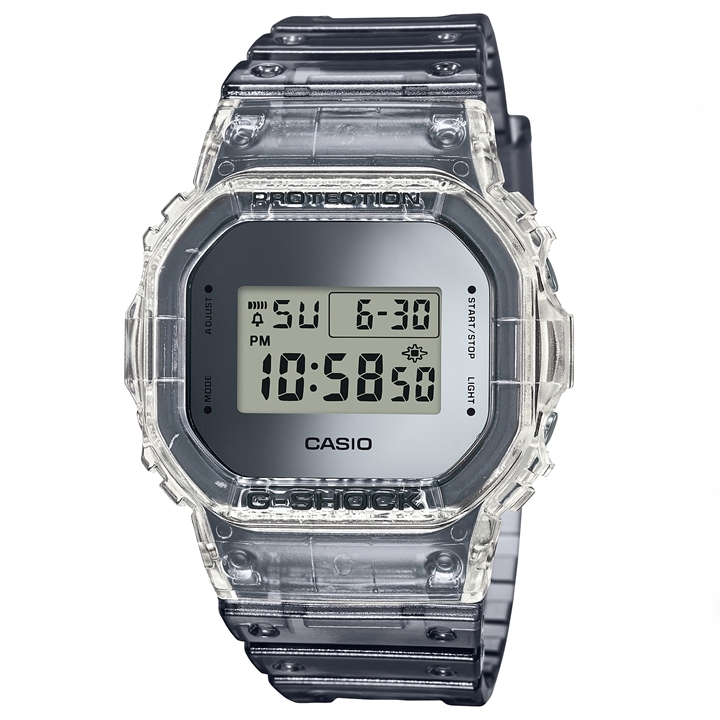 新作 4月発売 カシオ Gショック CASIO G-SHOCK Super Clear Sukeruton Color DW-5600SK-1JF 送料無料