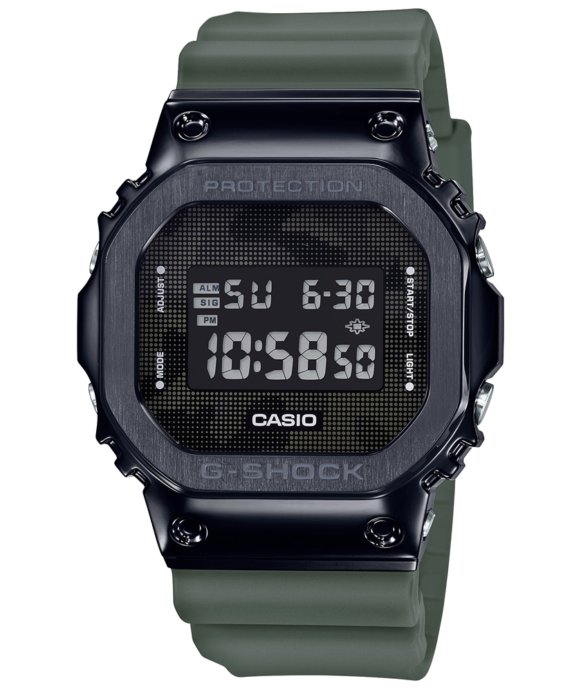 カシオ Gショック CASIO G-SHOCK New Metal Bezel IP GM-5600B-3JF 送料無料