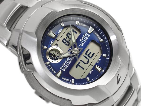 CASIO G-SHOCKカシオ 海外Model Gショック コックピットシリーズ アナデジWrist watch BlueStainless steelBelt G-1700D-2A