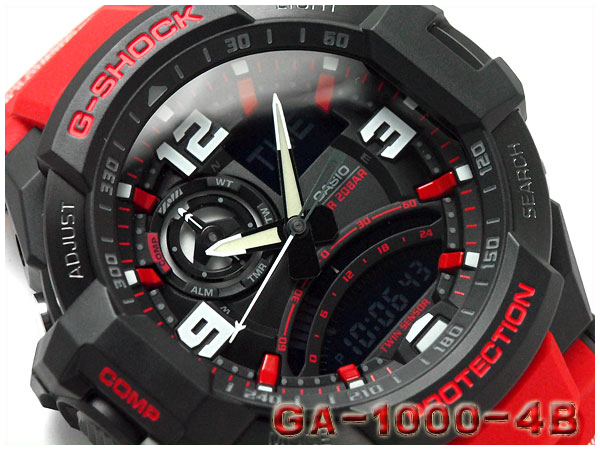 brand new e0d8b 67783 GA-1000-4BDR G-SHOCK G ショックジーショック gshock Casio CASIO watch GA-1000-4B