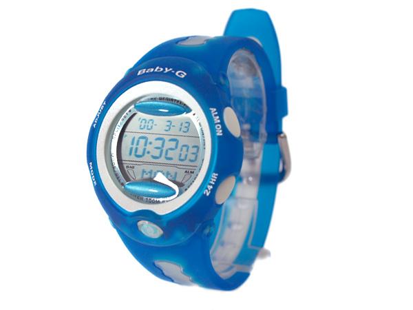 女子的手表海外型號Aqua藍色BG-163A-2