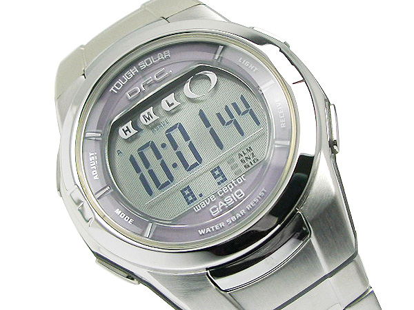 Casio lady's domestic model electric wave solar watch DFC-200DJ-8J