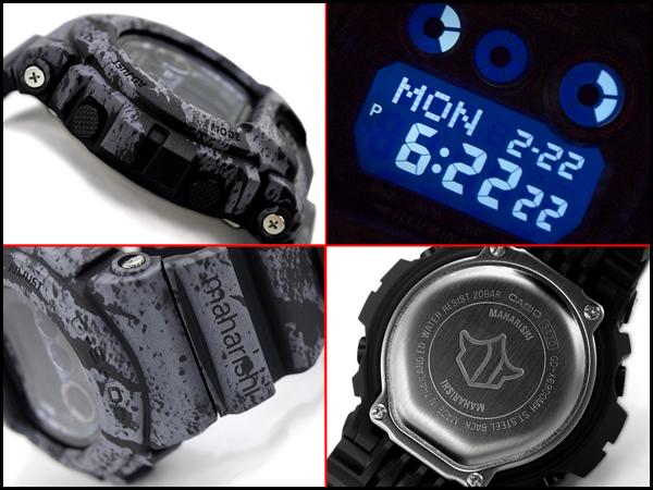 "G-休克 G 休克""導師導師有限模型凱西歐凱西歐電子錶農曆盆景 camolage 黑 g x6900mh 1er G-X 6900MH-1"