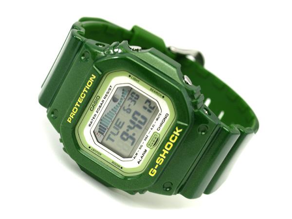 Casio G shock overseas model G-LIDE digital watch sparkling deep green GLX-5600A-3DR