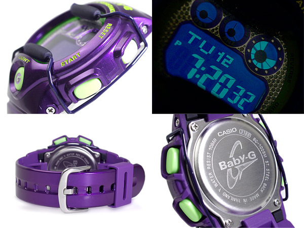 Casio baby G metallic color digital lady's watch purple BG-1005M-6DR fs3gm