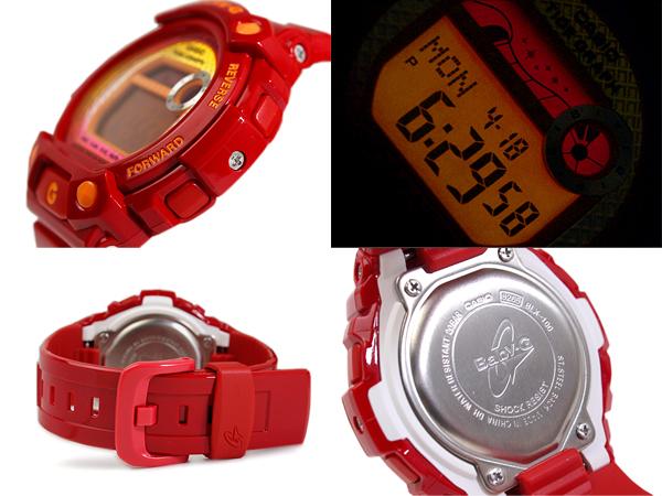 凱西歐寶寶 G G 立德 G 騎數位手錶紅色 BLX-100-4 博士 BLX-100-4