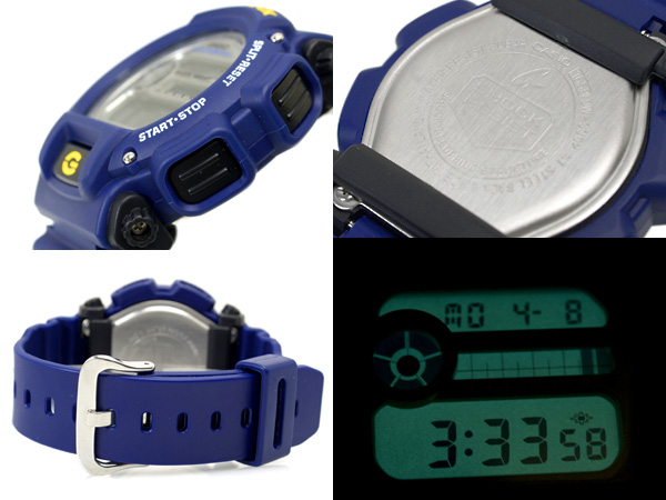 Casio G shock basic model digital watch overseas model Navy Blue belt DW-9052-2