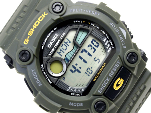 ee82fe4f8a56 G-SUPPLY  + Casio G shock Japan unreleased color overseas model digital  watch military khaki green urethane belt G-7900-3DR